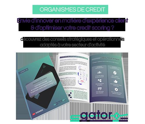 Organisme de crédit, Télécharger notre livre blanc : Comment innover en matière d'expérience client et optimiser votre crédit scoring ?
